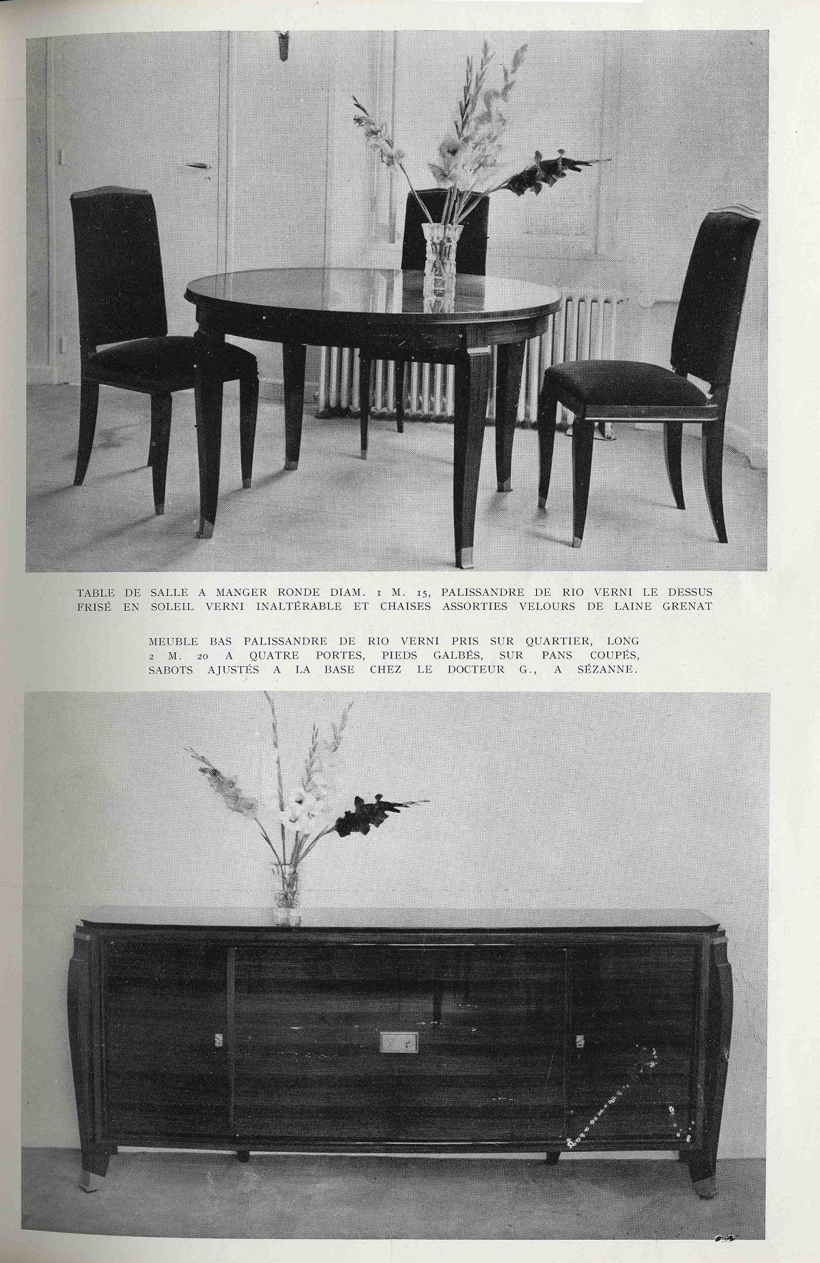 Erreur D Attribution Chez Sotheby S Pour Un Lot De Jules Leleu # Modele Meuble En Palissandre