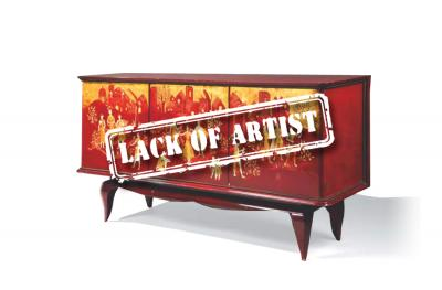 Ignorance error for a $16,500 sideboard by Albert GUENOT