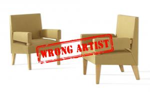 Attribution error at Phillips for a $9,000 pair of chairs to Maxime Old