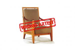 Attribution error for a $23.750 pair of armchairs to Jacques QUINET
